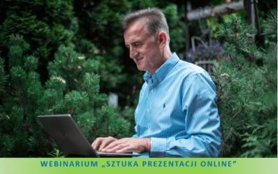 Webinarium – Sztuka Prezentacji Online